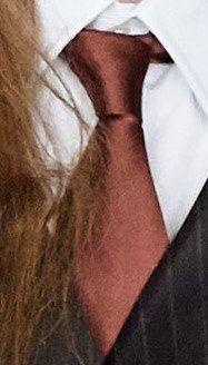 Red Fall 2020 Necktie-Dilara Findikoglu