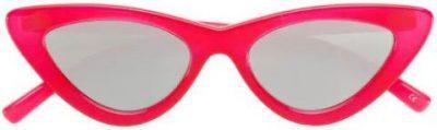 Red The Last Lolita Sunglasses-Le Specs X Adam Selman
