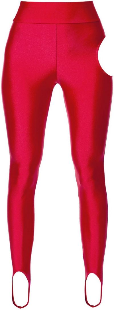 Red Winnie Lollipop Leggings-Aggi