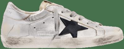 Superstar Metallic Leather Sneakers-Golden Goose