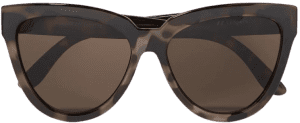 Tortoiseshell Liar Lair Cat-eye Tortoiseshell Acetate Sunglasses-Le Specs