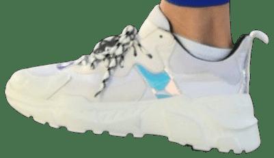 White 003 Sneakers-John Geiger