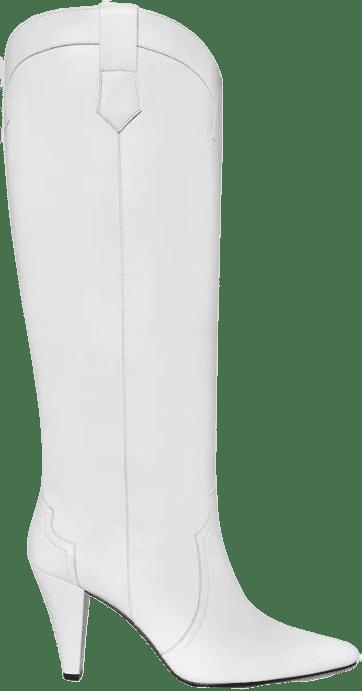 White Calypso Boots-Anine Bing