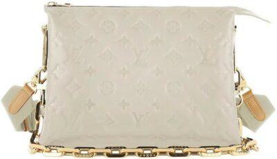 White Le Coussin Bag-Louis Vuitton