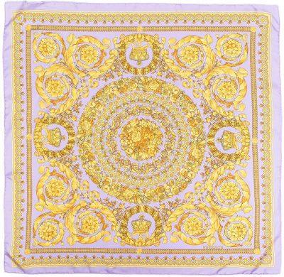Baroque Print Scarf-Versace