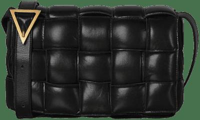 Black Padded Cassette Bag-Bottega Veneta