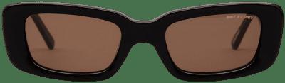 Black Preston Rectangular Sunglasses-DMY BY DMY