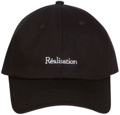 Black The Réal Cap-Realisation Par