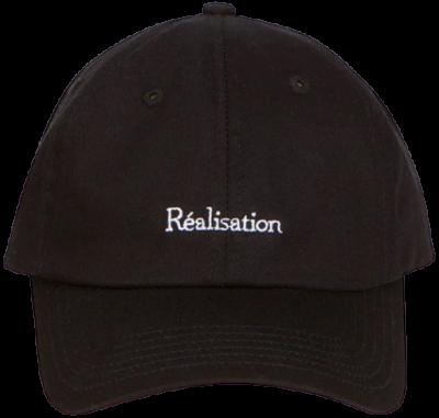 Black The Réal Cap-Realisation Par