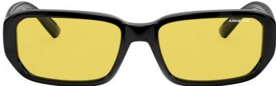Black and Yellow Rectangle Sunglasses