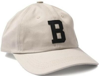 Cream Leather B Cap-Bronze 56K