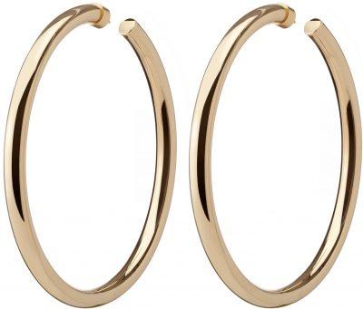 Gold Samira Hoop Earrings