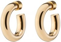 Gold Samira Huggies Earrings-Jennifer Fisher