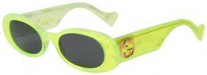 Neon Yellow Sunglasses