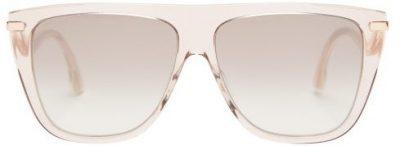 Nude Suvi Flat-Top Sunglasses