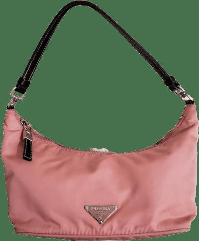 Pink Tessuto Sirio Hobo Shoulder Bag