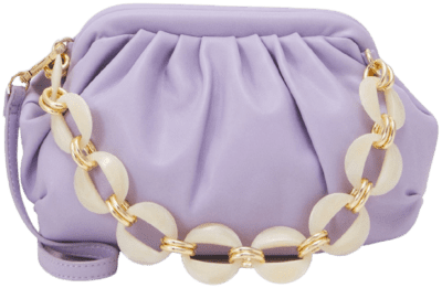 Purple Rmaliboo Clutch-Naf Naf