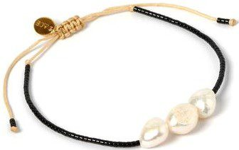 Serena Gold And Pearl Bracelet-Arms Of Eve
