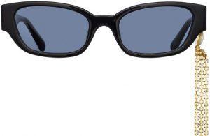 Black Cat Eye Sunglasses-Linda Farrow X Magda Butrym