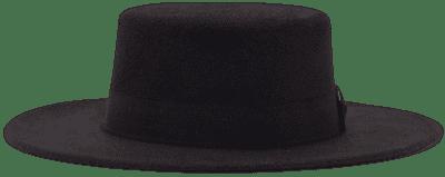 Black Heads I Win Wide Hat