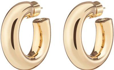 Gold Jamma Huggies Earrings