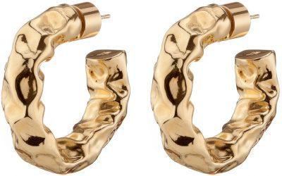 Gold Maeve Huggies Earrings-Jennifer Fisher