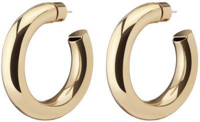 Gold Mini Jamma Hoop Earrings-Jennifer Fisher