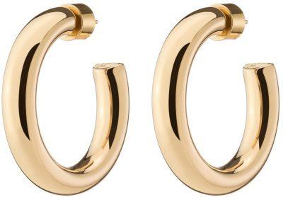Gold Mini Samira Hoop Earrings-Jennifer Fisher