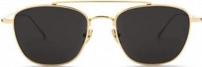 Gold Romeo Sunglasses-Sunday Somewhere