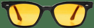 Yellow Vintage Prison Inmate Sunglasses
