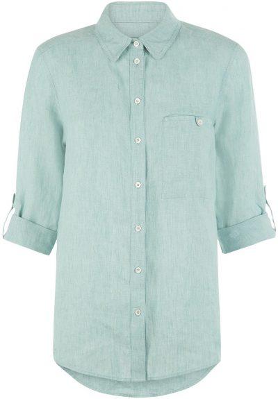 Aqua Jaeger Linen Shirt-John Lewis