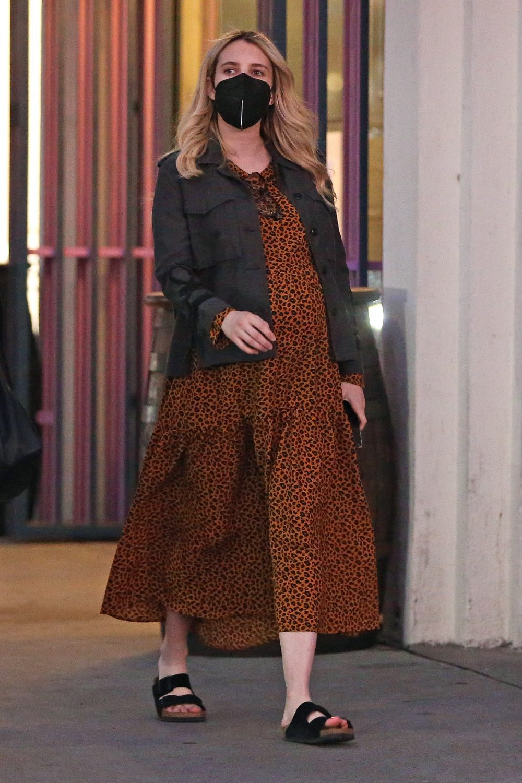 EXCLUSIVE: Emma Roberts runs errand in LA