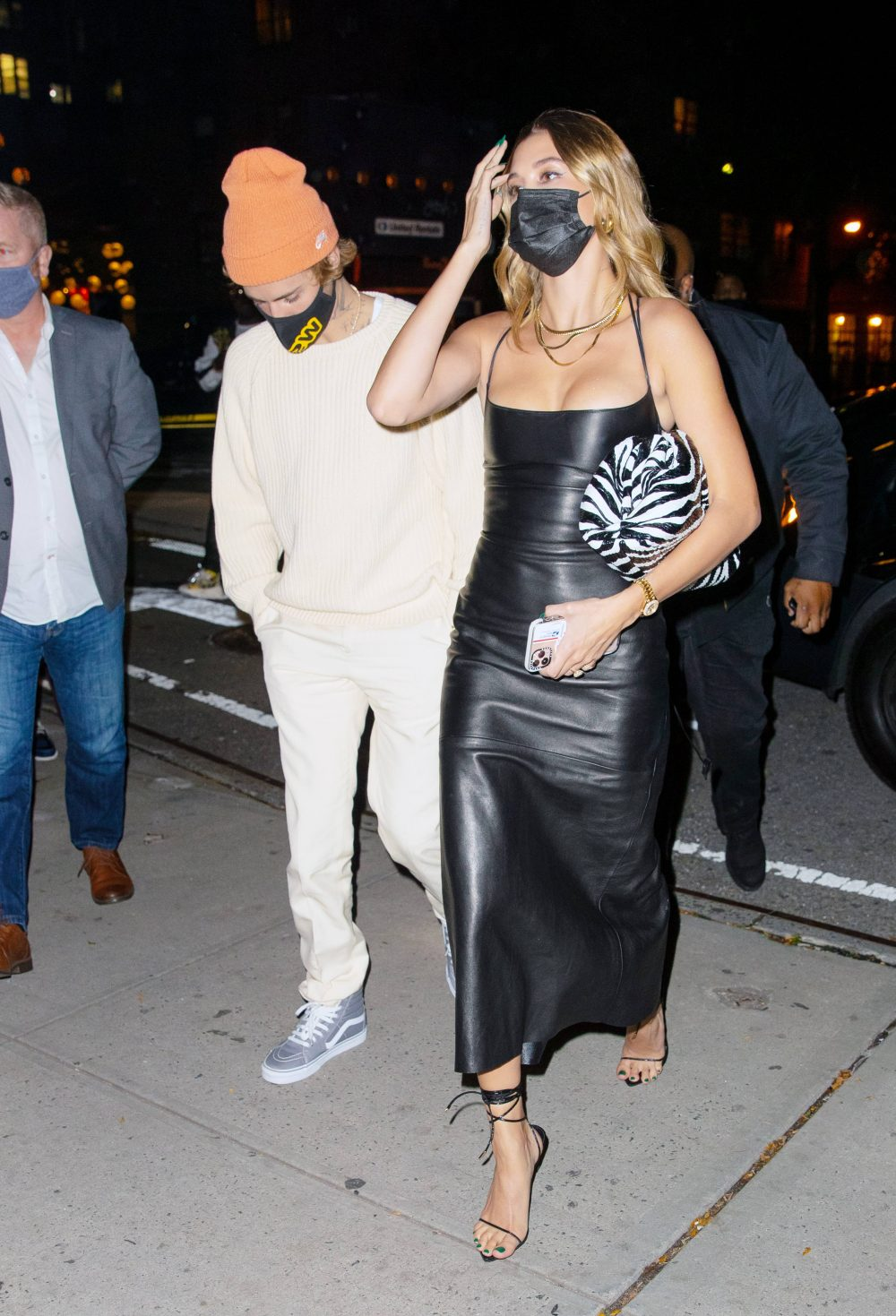 Justin Bieber and Hailey Bieber at SNL Afterparty in New York