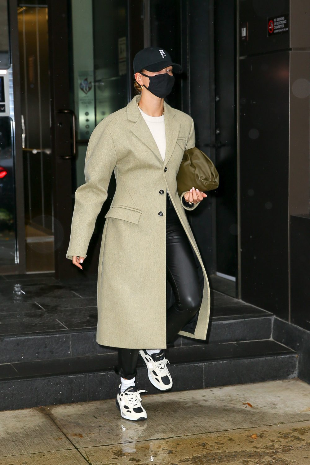 Hailey Bieber steps out in New York City
