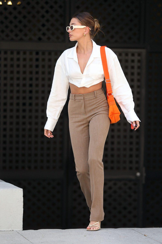 Hailey Bieber looks fantastic as she runs errands in Los Angeles