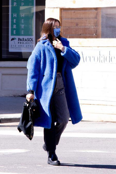 Irina Shayk Sighting in NYC