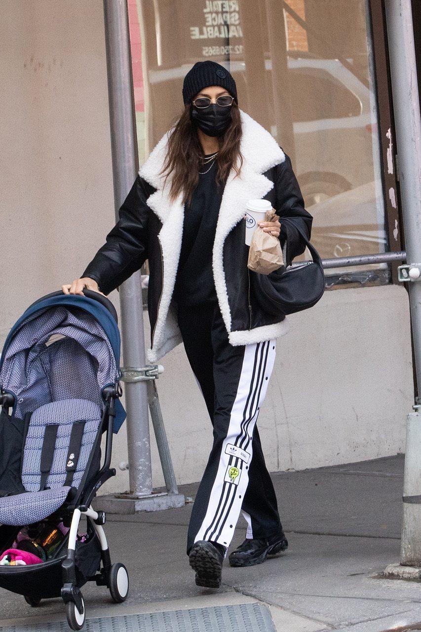 Irina Shayk sighting in NYC with daughter Lea De Seine Shayk Cooper