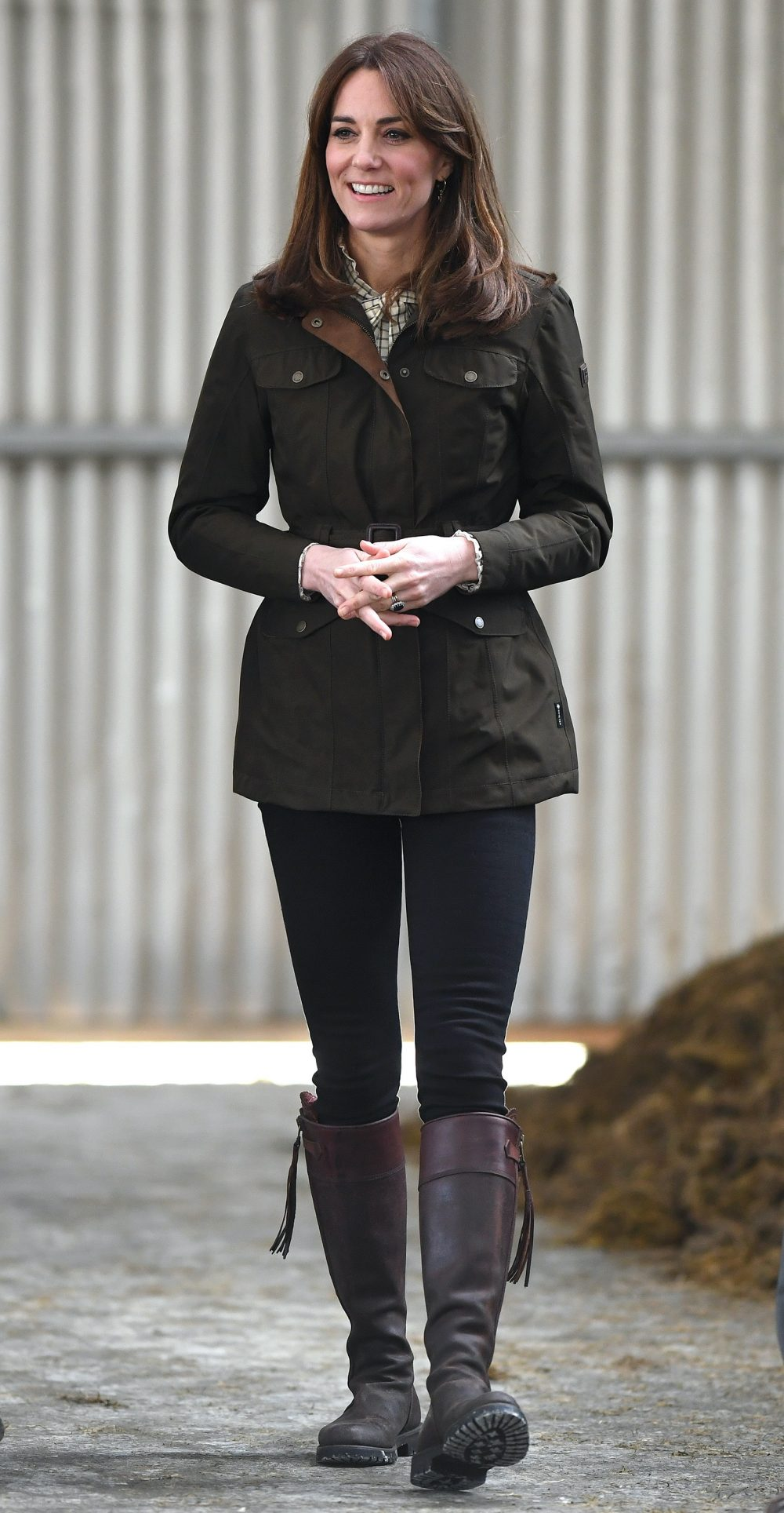 The Duke and Duchess of Cambridge visit Teagasc Research Farm