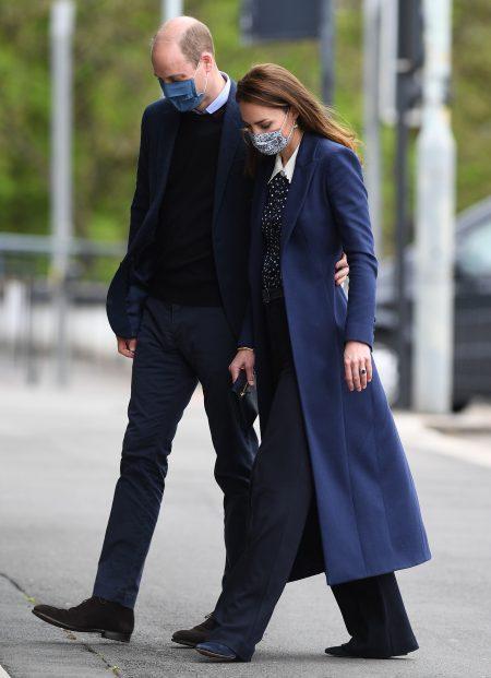 William and Kate visit Wolverhampton