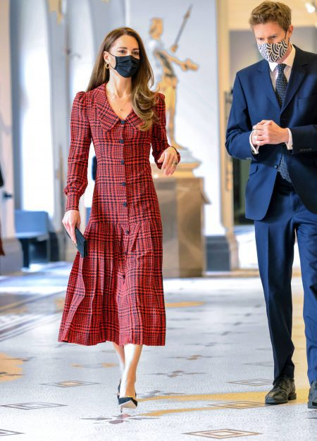 The Duchess of Cambridge Visits The V