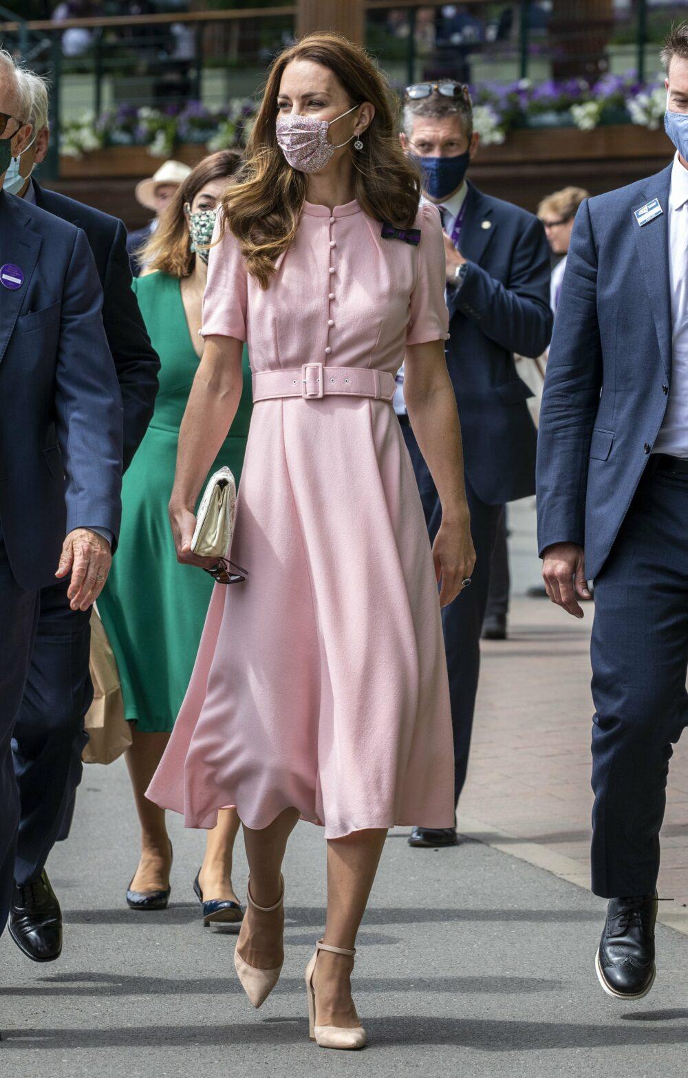 Catherine Duchess of Cambridge attends Wimbledon