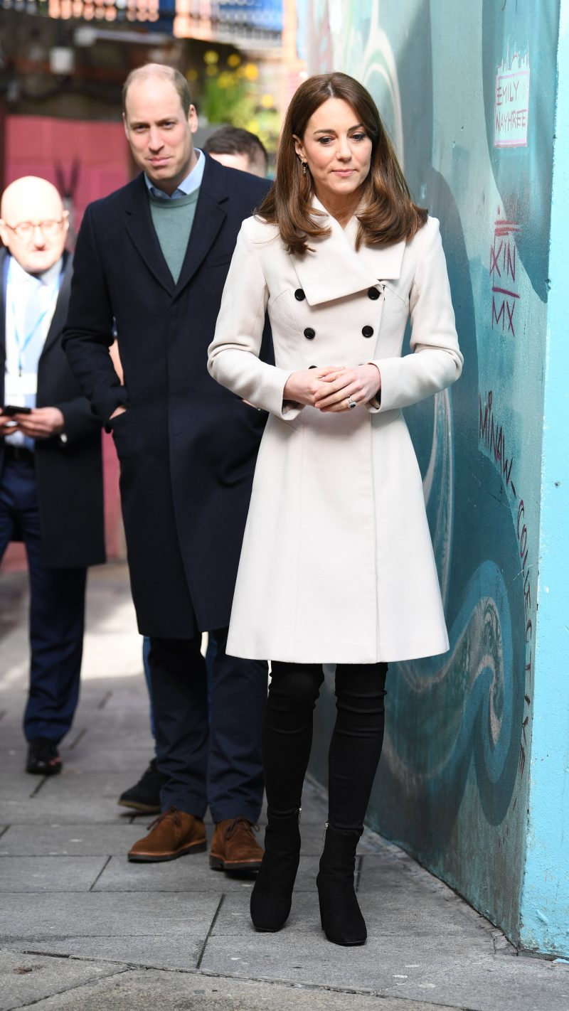 The Duke and Duchess of Cambridge visit Jigsaw