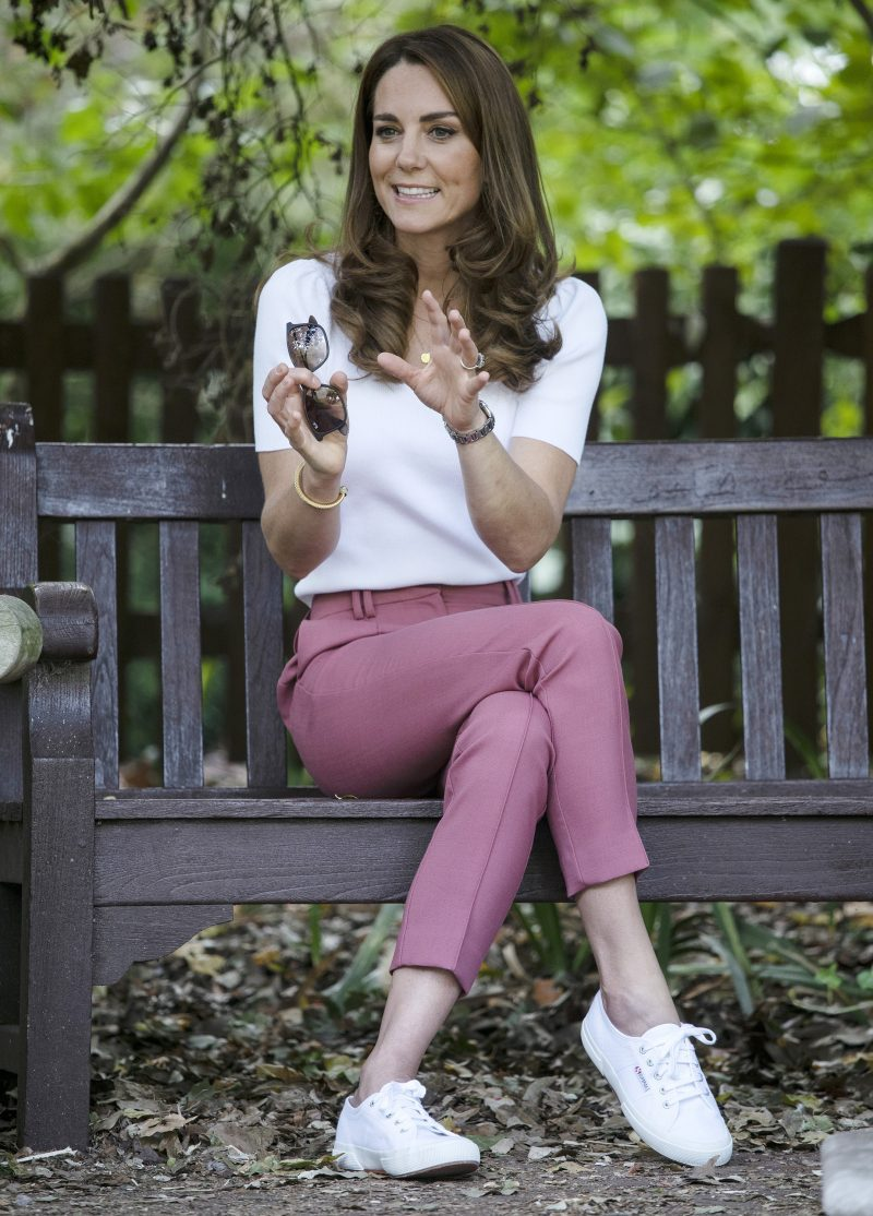 The Duchess of Cambridge learns about parent-powered initiatives