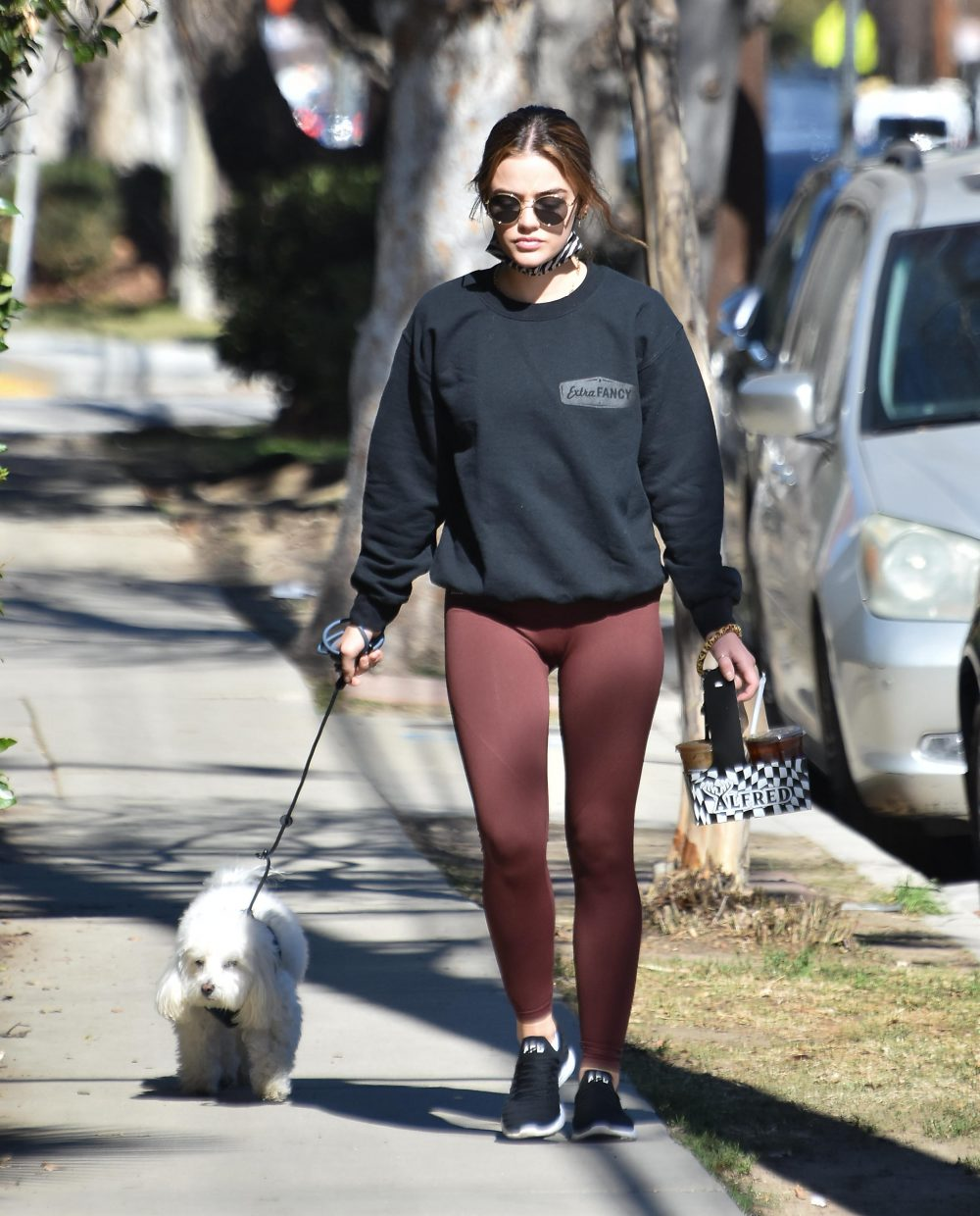 Lucy Hale out and about