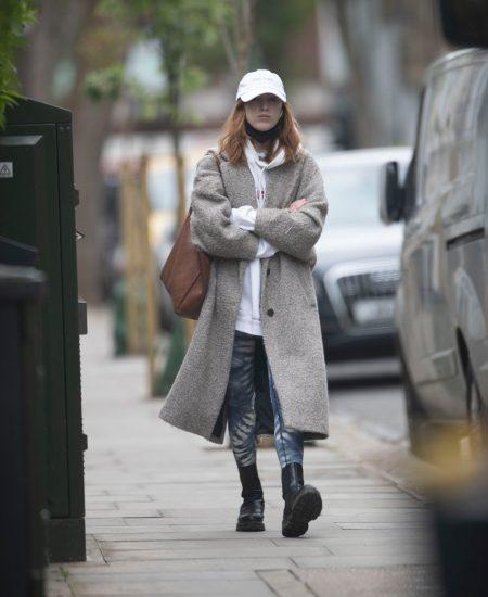 EXCLUSIVE: Bridgerton actress Phoebe Dynevor seen out in London