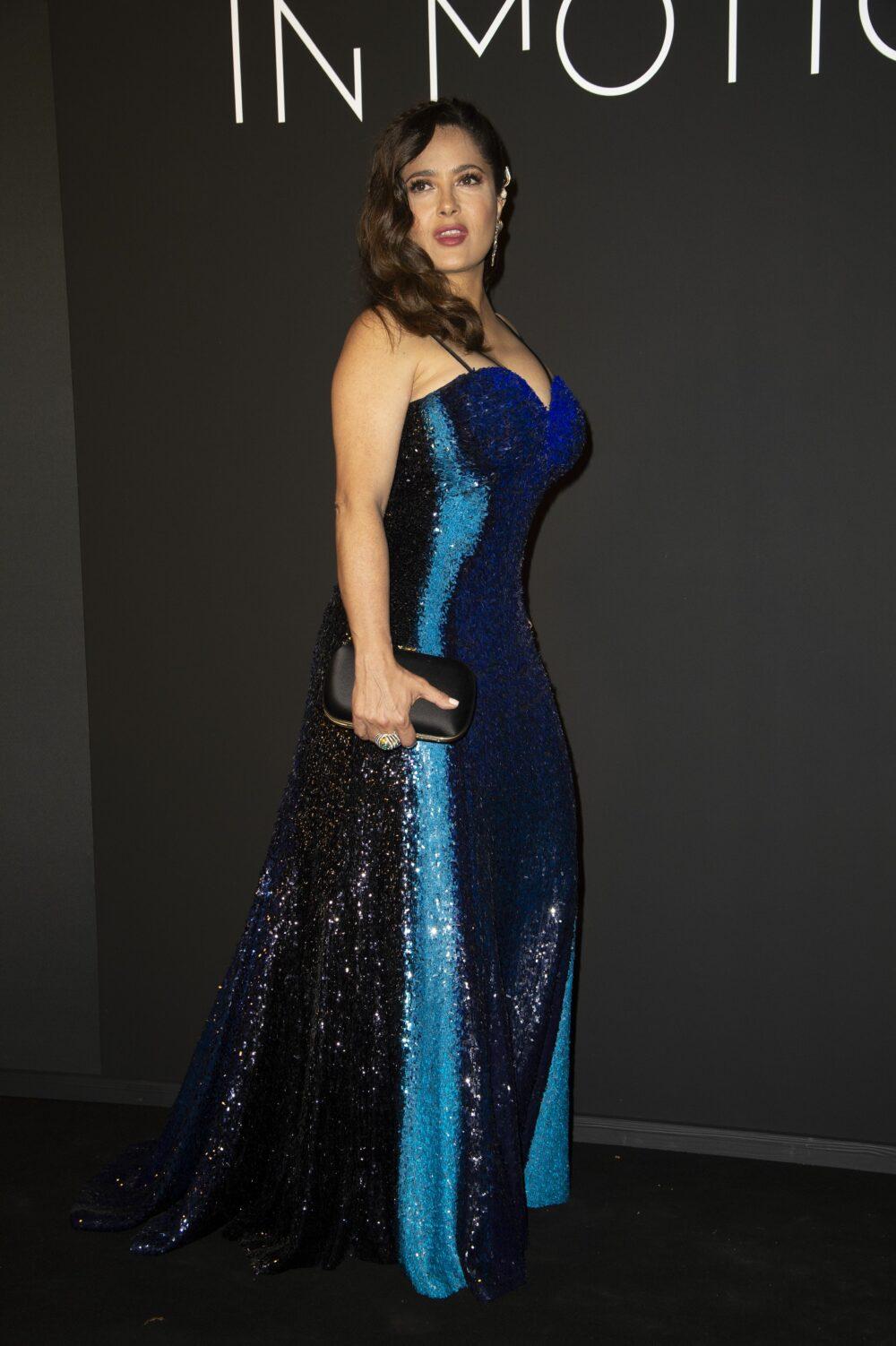 Salma Hayek attends the Kering Women In Motion Awards in Cannes