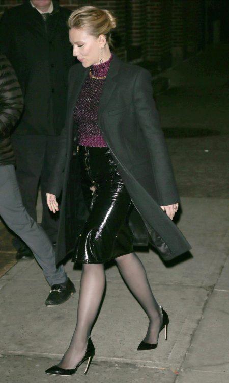 Scarlett Johansson in New York City