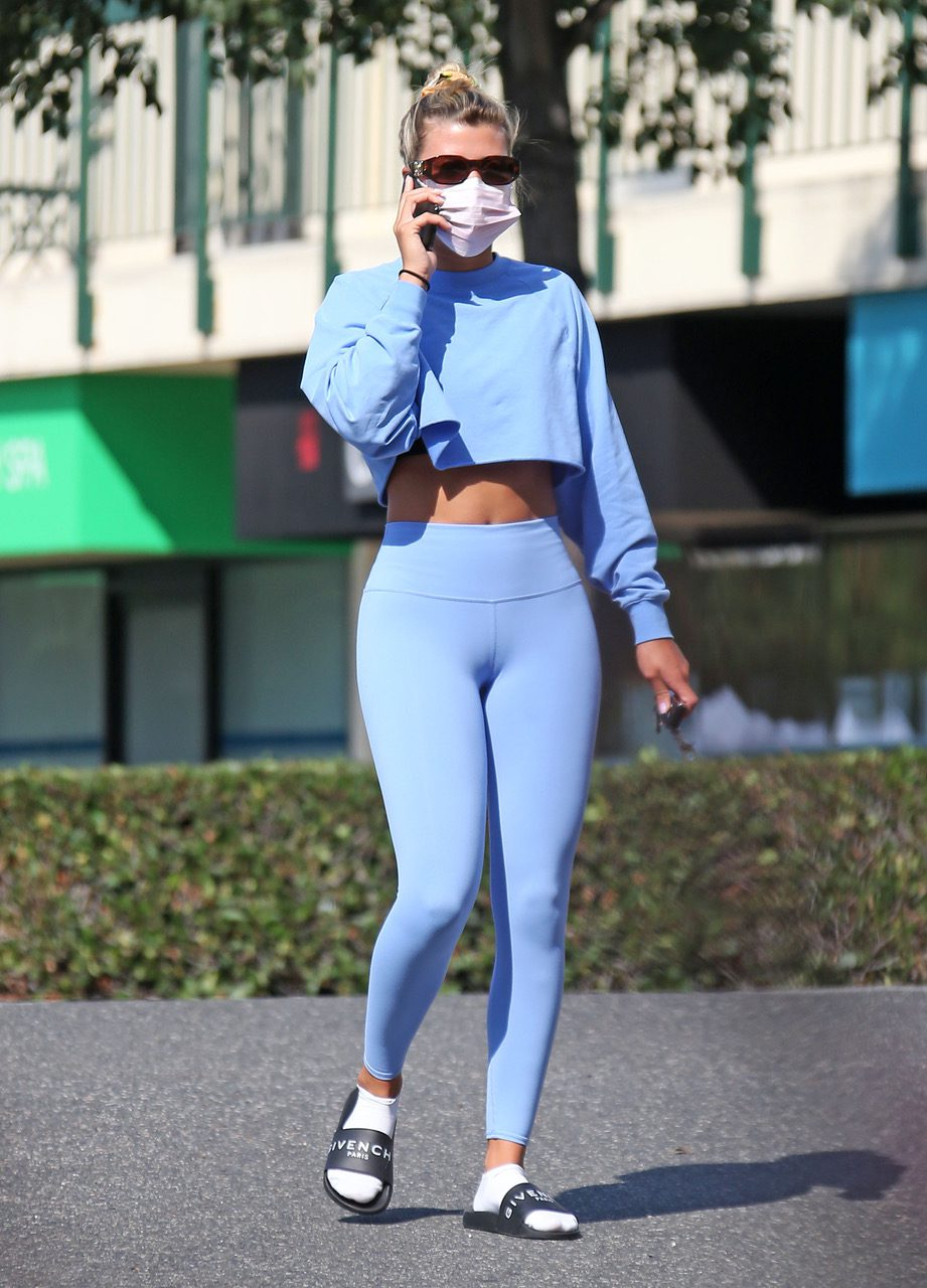 EXCLUSIVE: Sofia Richie heads to Yoga at Sunset plaza