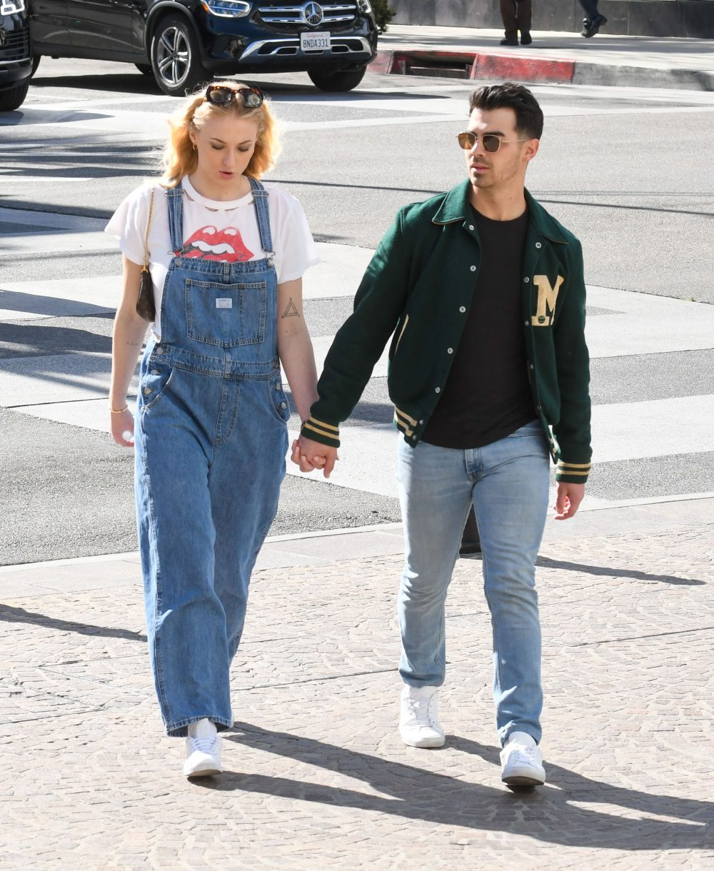 Sophie Turner and Joe Jonas out and about